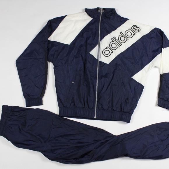 74bc71c3642f adidas Jackets   Coats   Vintage Medium Soccer 2 Piece Jacket Pants ...